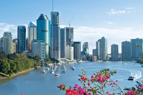 Brisbane-Skyline-Australia
