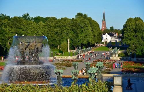 Frogner-Park-Oslo-Norway