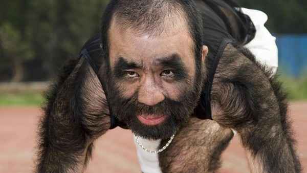 Hairiest Man On Earth